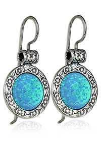 silver-created-blue-fire-opal-earrings