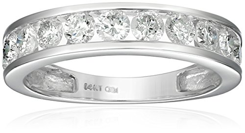 14k Gold Round Diamond Anniversary Band (1 cttw, I-J Color, I2-I3 Clarity)
