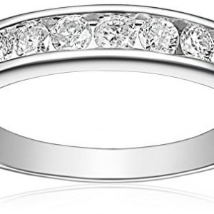 14k Gold Round Diamond Anniversary Band (1/2 cttw, I-J Color, I2-I3 Clarity)