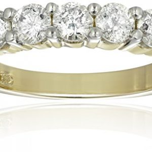 14k Gold Seven-Stone Diamond Ring (1 cttw, H-I Color, I1-I2 Clarity)