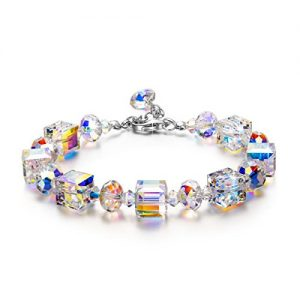 """LadyColour """"A Little Romance"""" Crystal Bracelet Series, Made with Swarovski Crystals"""
