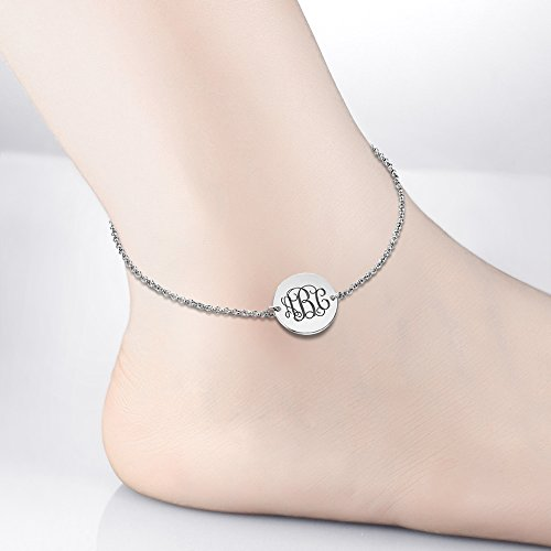 long chain barefoot foot inch anklet dp cuban amazon men gold cm com bracelet women jewelry