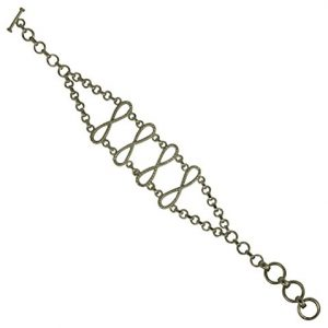 Amazing Looking 925 Solid Sterling Silver Bracelet Size 7.5″