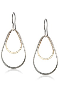mixed-metal-teardrop-double-jump-earrings