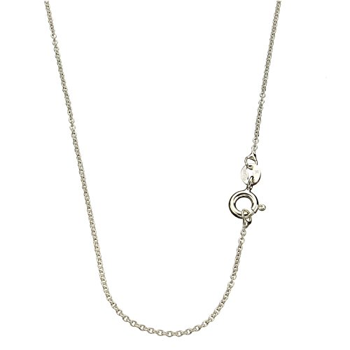 Sterling Silver 1 3mm Fine Cable Nickel Free Chain