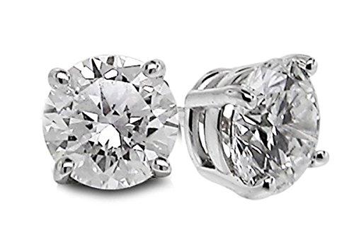 Diamond Studs Forever Solitaire
