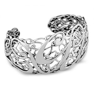 Carolyn Pollack Sterling Silver Signature Cuff Bracelet