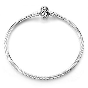 Bracelet,925 Sterling Silver Basic Charm Bracelet Snake Chain Long Way Fine Jewelry for Women, Best Christmas Birthday Gift for Mother Wife Girlfriend