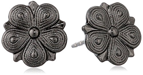 1928 Jewelry Floral Stud Earrings
